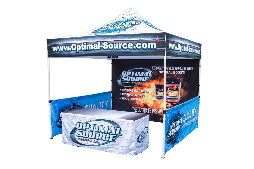 Marketing event canopy tent