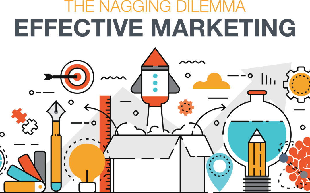 "T-H-E nagging dilemma facing 33% of Small Business Owners – ""How to effectively market to new customers?"""
