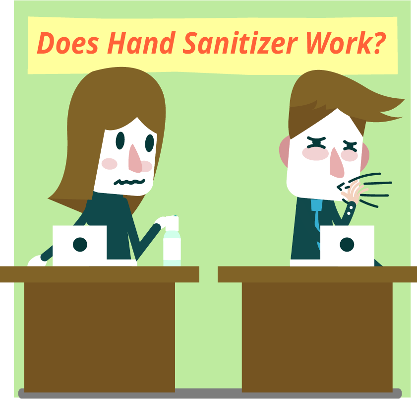 Does Hand Sanitizer Work?