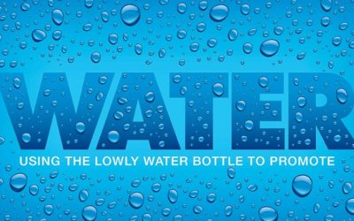 Using the lowly water bottle to promote your brand –  Worrell offers a new approach!