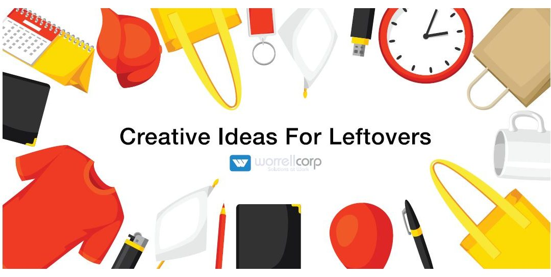 Creative ideas for dealing with leftover promotional giveaways